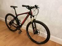 Giant xtc carbon fibre mountain bike/hard tail
