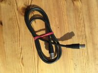 Brand new TV Aerial extension Lead. £1, can post or collect from torquay.