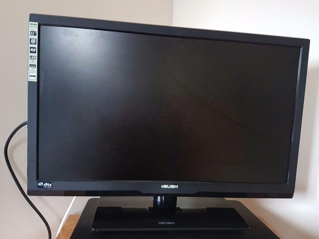 bush 22 39 inch tv dvd combi for sale in swindon wiltshire gumtree. Black Bedroom Furniture Sets. Home Design Ideas