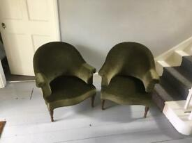 Vintage French Style Nursing Chairs