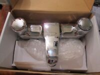 shires broomhill bath mixer and basin taps brand new