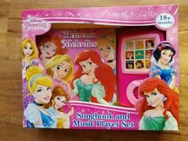Disney Princess songbook and music player set BNIB
