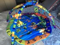 Inside Out Toys Ocean World Baby Playmat Jungle Gym
