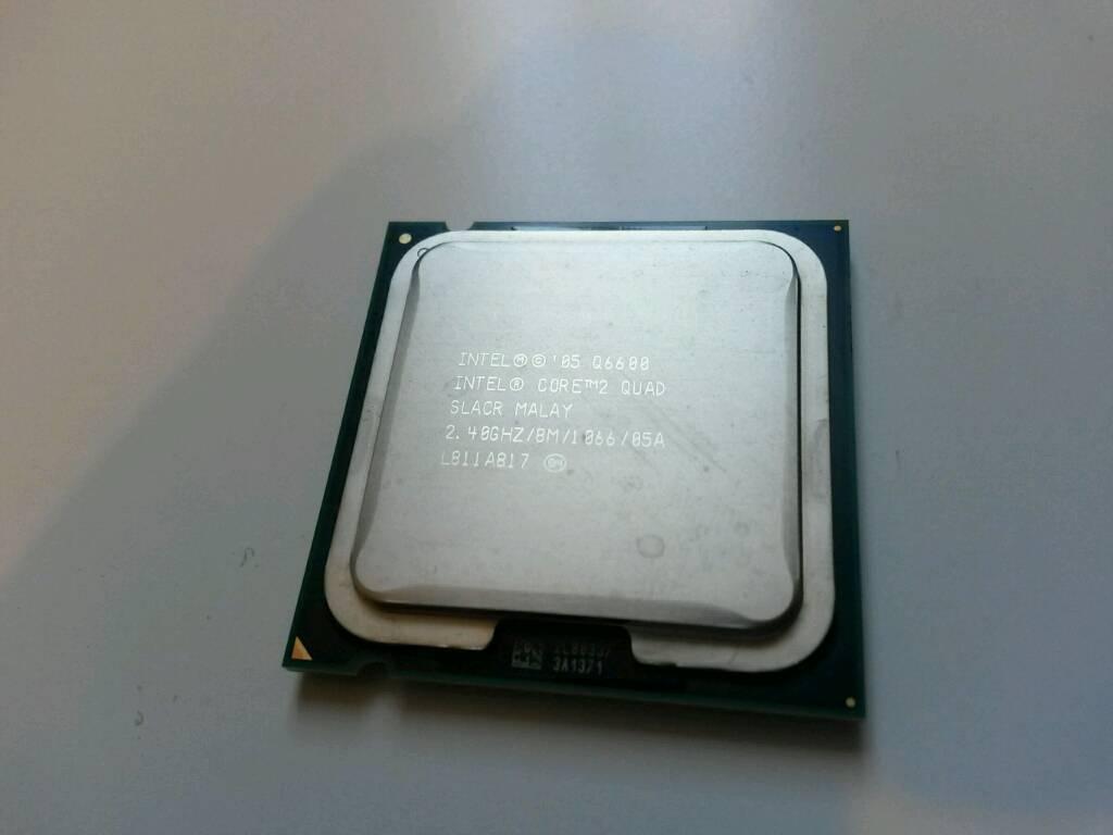 Intel Core 2 Quad Q6600 Lga775 Cpu In Leytonstone Processor