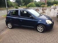 Toyota Yaris 04 reg, 5 door