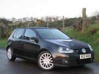 2007 VOLKSWAGEN GOLF GT TDI SPORT 170BHP DIESEL 5DR 120k FULL SERVICE HISTORY IMMACULATE CONDITION