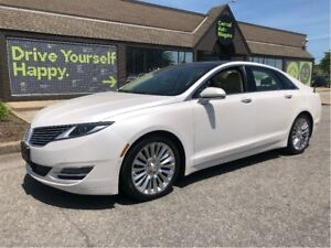 2014 Lincoln MKZ / NAVIGATION / PANORAMIC ROOF / LEATHER