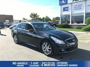 2013 Infiniti G37 Sport AWD|Navi|Bup Camera|Sunroof|Leather|Heat
