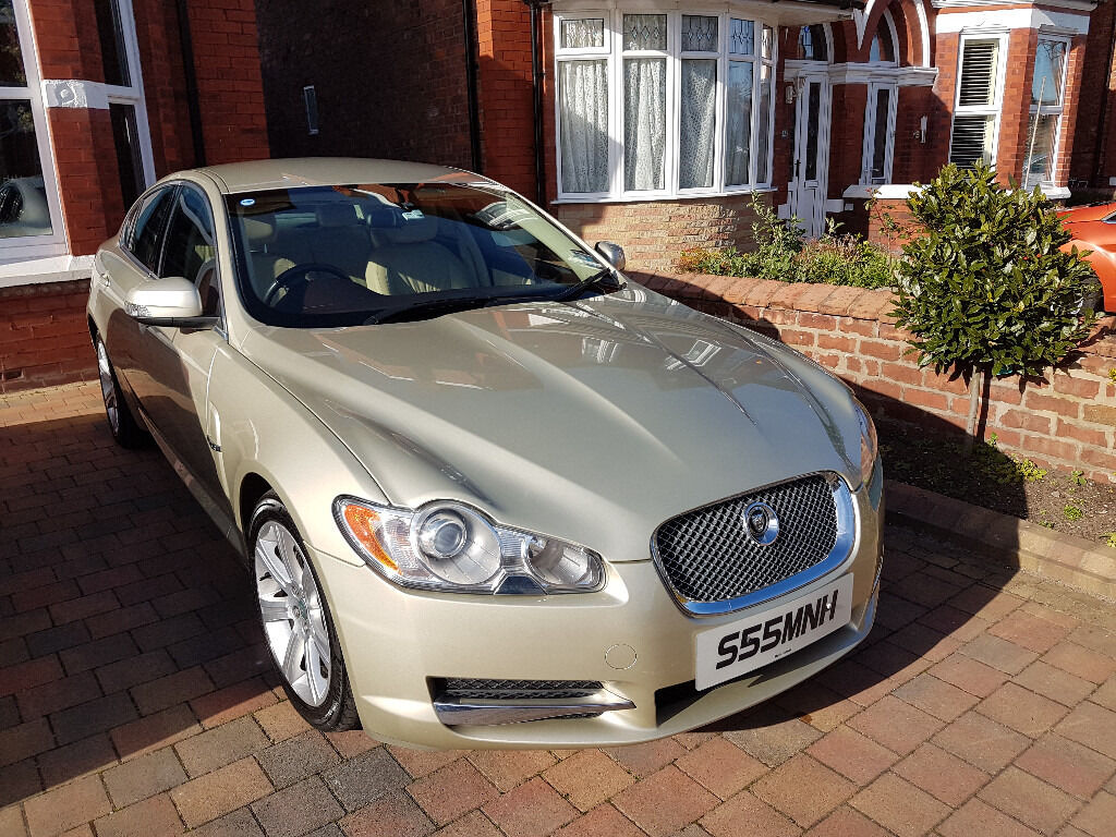 2009 Jaguar Xf Luxury Auto In Champagne Gold In Southport