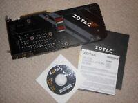 Zotac NVIDIA GeForce GTX 1080 Ti 11 GB AMP Extreme Edition Graphics Card - Black