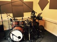 Drum Kit Tuition - Drum Lessons in the Bingham Area - Soundproof Studio, Working, Published Musician