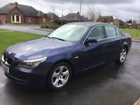 09 BMW 520D SE BUSINESS EDITION FSH LEATHER SAT NAV P/EX WELCOME