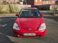REALLY CHEAP RED HONDA CIVIC VTEC 1.6