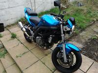 Suzuki SV650 N Blue. Very good condition. Low mileage