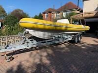 Leeway 7.5m Rib Boat