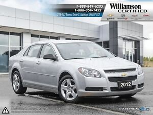 2012 Chevrolet Malibu LS**BLUETOOTH**6 SPD AUTO**2.4L 4CYL**