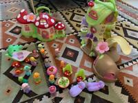 ELC Fairy boot house and toadstool cottage