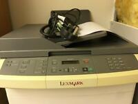 Scanner/printer/fax