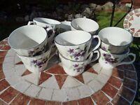 TEA SET; STAFFORDSHIRE, AYNSLEY & CO LTD, EST 1869 (ONLY £10 THE SET) RESERVED