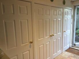 Internal doors in very good condition