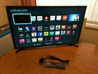 32in Samsung SMART Wi-Fi LED TV FREEVIEW HD