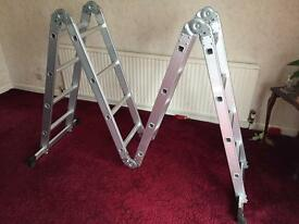 4 way folding ladders