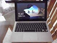 "ASUS VivoBook S200E Notebook with 11.6"" Touch Screen and running Windows 10, excellent condition"