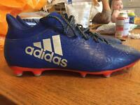 Men's football boots adidas size 10.5 used once to small for me