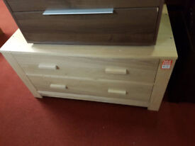 Schreiber Constable 2 drawer chest - ligth oak