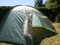 Small (two man ) dome tent.