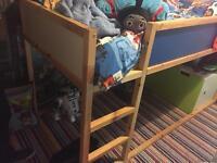Ikea cabin bed reversible