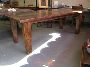 Reclaimed Wood Harvest Tables More