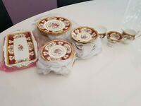 royal albert lady hamilton dinner set