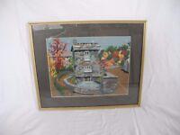 Framed Tapestry - The Bridge House
