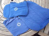 Bugaboo Cameleon Blue Fleece Fabrics