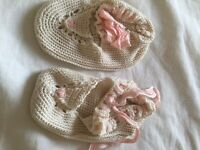 Antique Baby Bootees