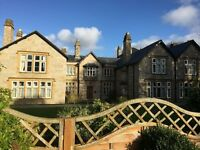 Cornwall Holiday Apartment in Grade II Manor House with pool in July - Very Last Minute Deal Reduced