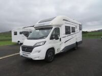 2019 MOBILVETTA KEA P67 4 BERTH FIXED BED MOTORHOME WITH ONLY 2K MILES ANDERSON MOTORHOME SALES