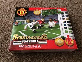 Football pitch & play set