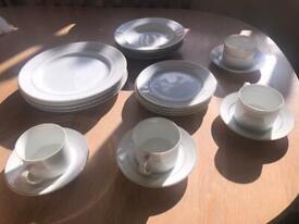 Fine Porcelain Interiors Dinner Set