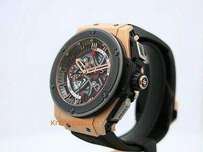 Hublot King Power Chronograph Miami Heat Limited Edition 18K Rose Gold