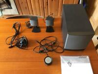Bose Companion 3 series 2 speaker set