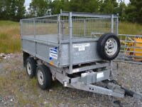 tipping trailer ifor williams 8ft x 5ft £2750ono (no vat)