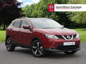 Nissan Qashqai 1.5 dCi N-Connecta 5dr (magnetic red) 2017