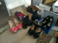 Selection of shoes for sale