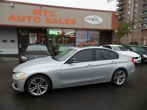 2013 BMW 328 i xDrive (A8), LEATHER, SUNROOF, KM: 46K