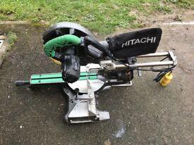 Miter saw HITACHI C8FSE 110V
