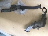 Subaru Impreza Wrx downpipe and straight pipe original with cats