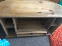 Mexican pine corona tv unit stand