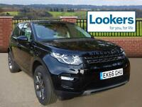 Land Rover Discovery Sport TD4 SE TECH (black) 2016-10-31